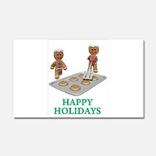 Happy Holidays Car Magnet 20 x 12