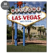 Las Vegas Welcome sign, Las Vegas, Nevada,  Puzzle
