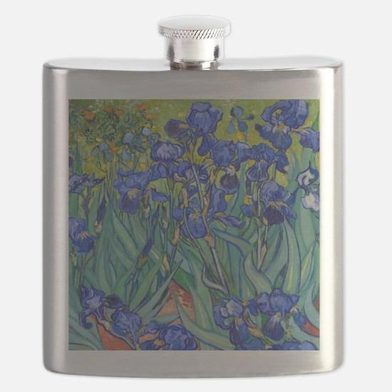 Shower VG Irises89 Flask