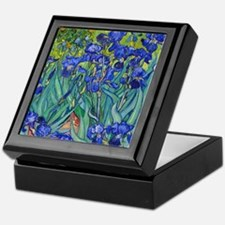 Shower VG Irises89 Keepsake Box