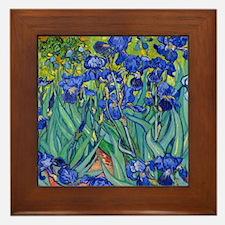 Shower VG Irises89 Framed Tile
