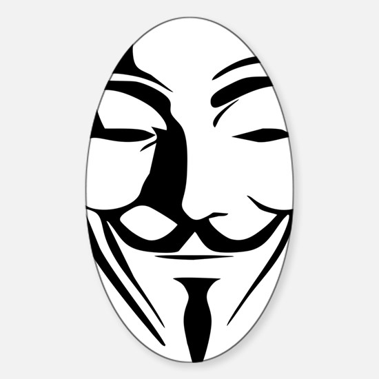 anonymous Sticker (Oval)