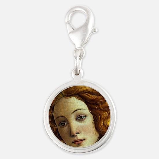 Sandro Botticelli Silver Round Charm