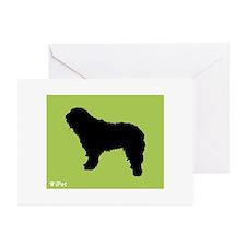 Bergamasco iPet Greeting Cards (Pk of 10)