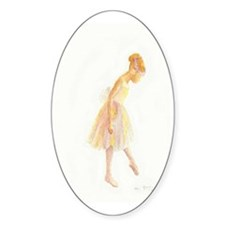 Vintage Chick Little Ballerina Decal