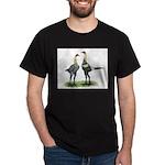 Lemon Blue Modern Games Dark T-Shirt