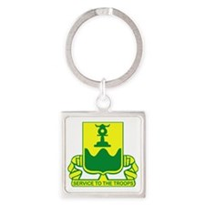 519th Military Police Battalion Square Keychain