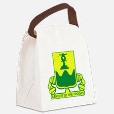 519th Military Police Battalion Canvas Lunch Bag