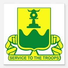 """519th Military Police Ba Square Car Magnet 3"""" x 3"""""""