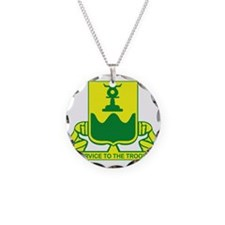 519th Military Police Battal Necklace