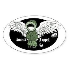 VK-UK Anorak Angel Oval Decal