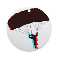 3D Canopy 1 Round Ornament
