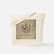 Vintage Cuba Tote Bag