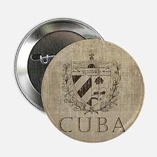 """Vintage Cuba 2.25"""" Button"""