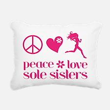 PLSS pink Rectangular Canvas Pillow