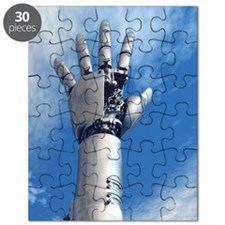 Cybernetic arm, artwork Puzzle