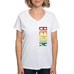 Benin Women's V-Neck T-Shirt