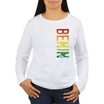Benin Women's Long Sleeve T-Shirt