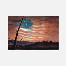 Frederic Edwin Church Rectangle Magnet