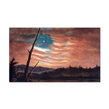 Frederic Edwin Church Rectangle Car Magnet