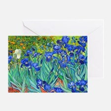 LP VG Irises89 Greeting Card