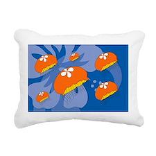 Jellyfish Banner Rectangular Canvas Pillow
