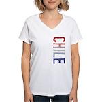 Chile Women's V-Neck T-Shirt