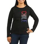 Chile Women's Long Sleeve Dark T-Shirt