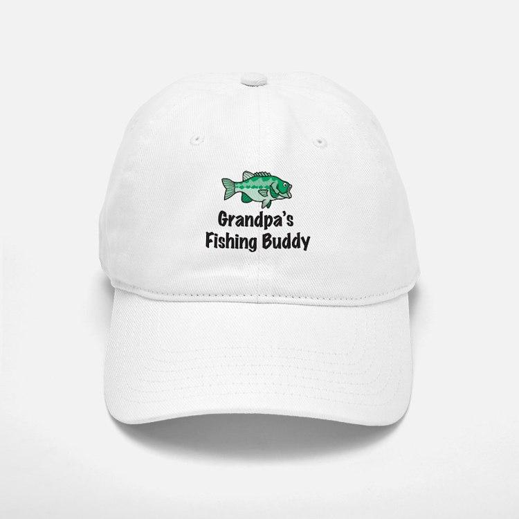 Grandpa's Fishing Buddy Baseball Baseball Cap