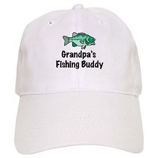 Grandpa's Fishing Buddy Baseball Cap