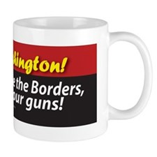Anti-Gun Control sticker (bumper) Mug