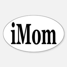 iMom Oval Decal
