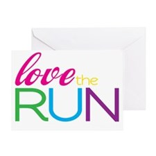 Love the Run Greeting Card