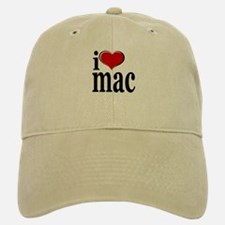 I love Mac Baseball Baseball Cap