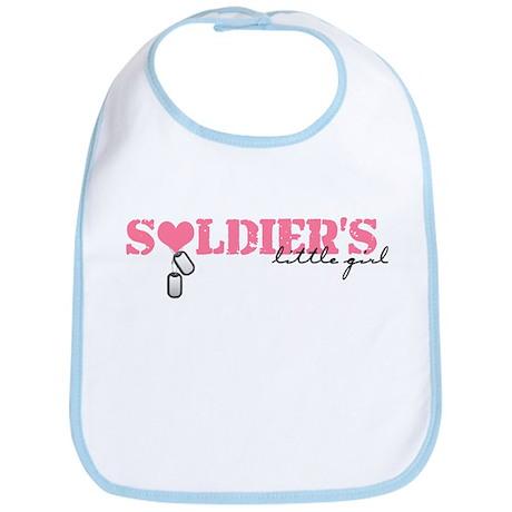 Soldier's Little Girl Bib