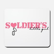 Soldier's Little Girl Mousepad