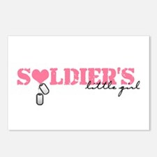 Soldier's Little Girl Postcards (Package of 8)