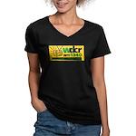 DCR Women's V-Neck Dark T-Shirt