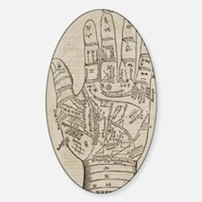 Palmistry Chart Decal