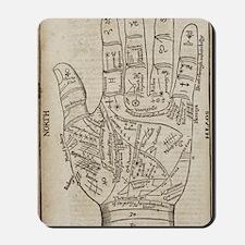 Palmistry Chart Mousepad
