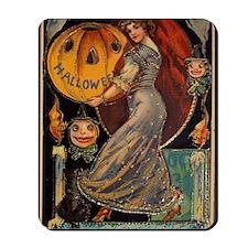 Vintage Halloween Card Mousepad