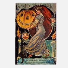Vintage Halloween Card Postcards (Package of 8)