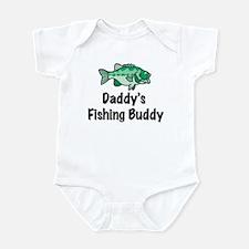 Daddy's Fishing Buddy Infant Bodysuit
