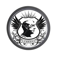 Liberty Crest - Ron Paul T-shirt Wall Clock