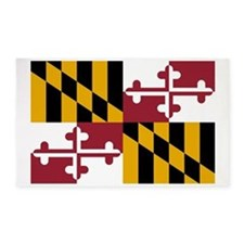 Maryland State Flag 3'x5' Area Rug