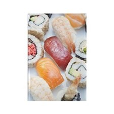 Sushi. Rectangle Magnet