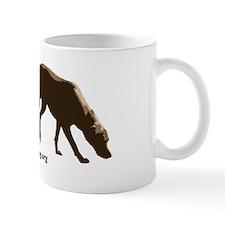 Tracking dog sticker -- NLDA Mug