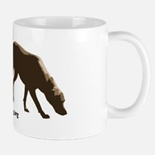 Tracking dog sticker -- NLDA Mug