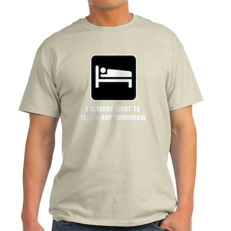 Nap Tomorrow Light T-Shirt