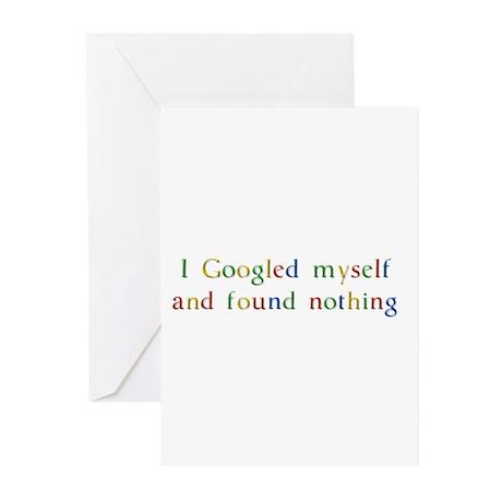 I Googled myself... Greeting Cards (Pk of 10)